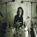 Alban on drums with 4Element