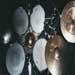 Alban's drumset