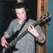 Cedric recording bass for Living Spirit