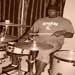 Terrance on drums